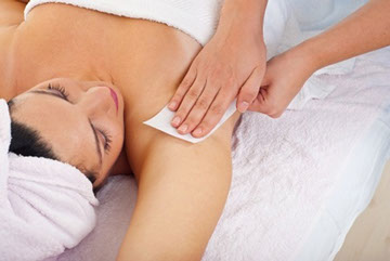 reduced pain for Hair removal by waxing